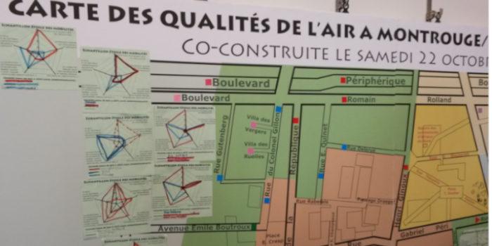 Jeu de piste participatif – Qualité de l'air à Montrouge
