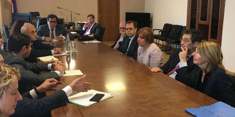Coopération internationale – Mission en Arménie
