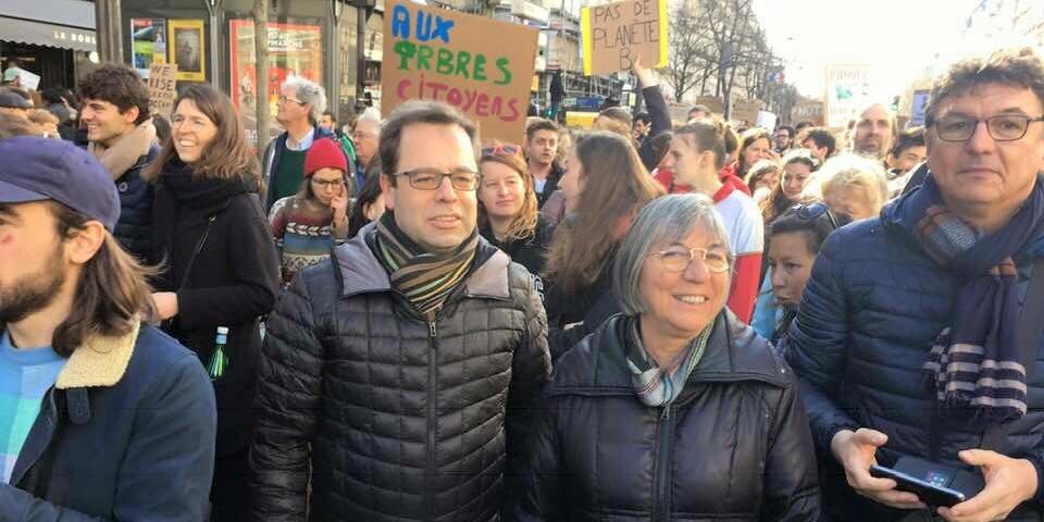 A la marche pour le climat
