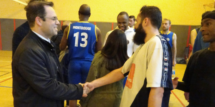 Aux matches de la section Basket du Stade Multisports de Montrouge
