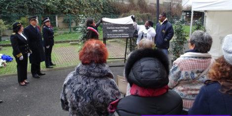Malakoff a dévoilé une plaque commémorative en hommage à Clarissa Jean-Philippe