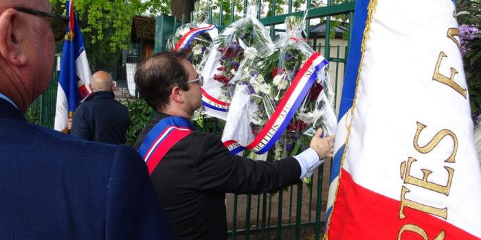 Journée nationale de la résistance au square Jean Moulin