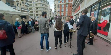 Read more about the article A la fête du quartier Messier