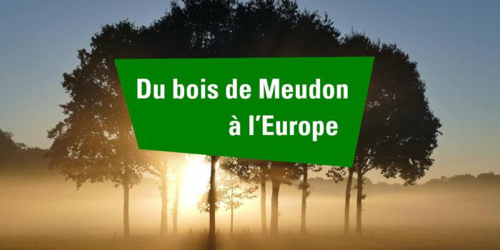 Du bois de Meudon à l'Europe