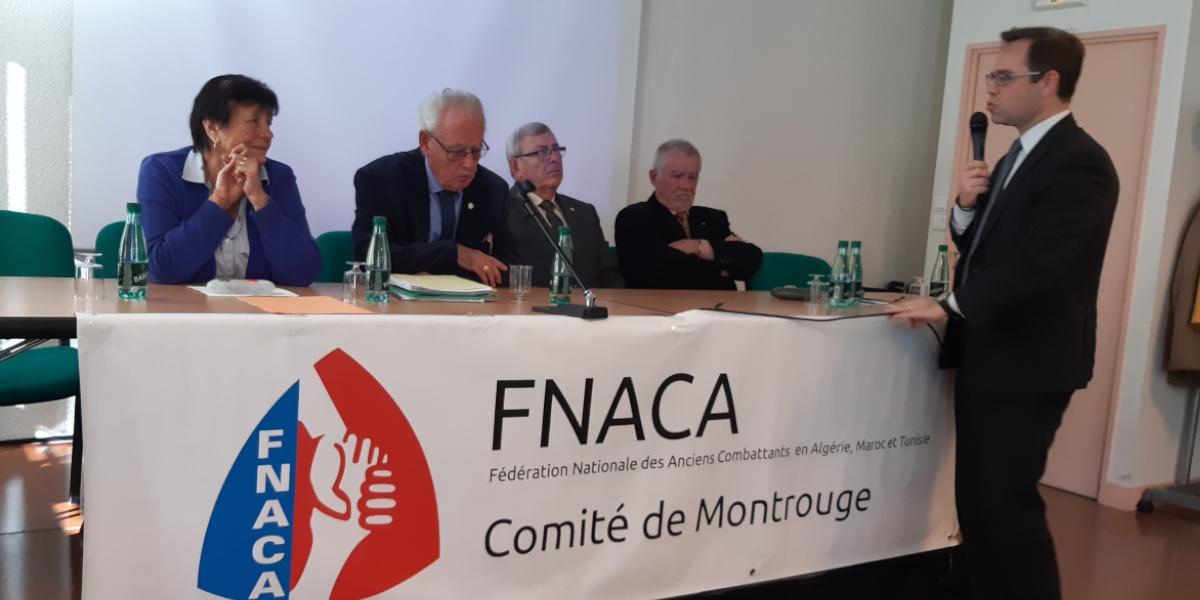 You are currently viewing A l'assemblée générale du Comité de Montrouge de la FNACA