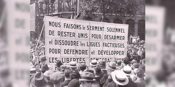 14 juillet…début du Front populaire à Montrouge
