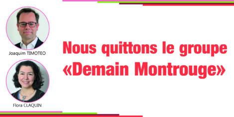 """Départ du groupe """"Demain Montrouge"""""""