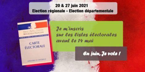 Read more about the article Inscription sur les listes électorales – C'est avant le 14 mai