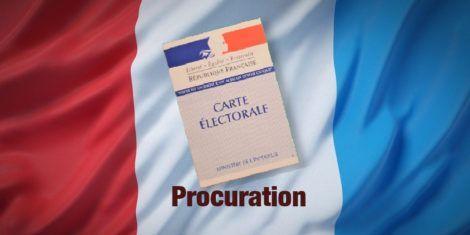 Read more about the article Je ne peux pas aller voter le 20 juin et / ou le 27 juin, je fais une procuration