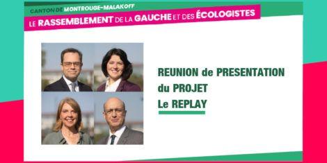 Read more about the article Réunion de présentation du projet – Le replay