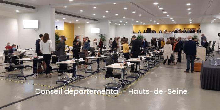 Elections départementales – Les résultats du second tour dans les Hauts-de-Seine