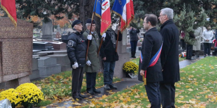 Commémorations du 11 novembre 2018