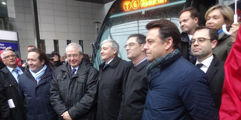 Inauguration du tramway T6 – station Chatillon-Montrouge