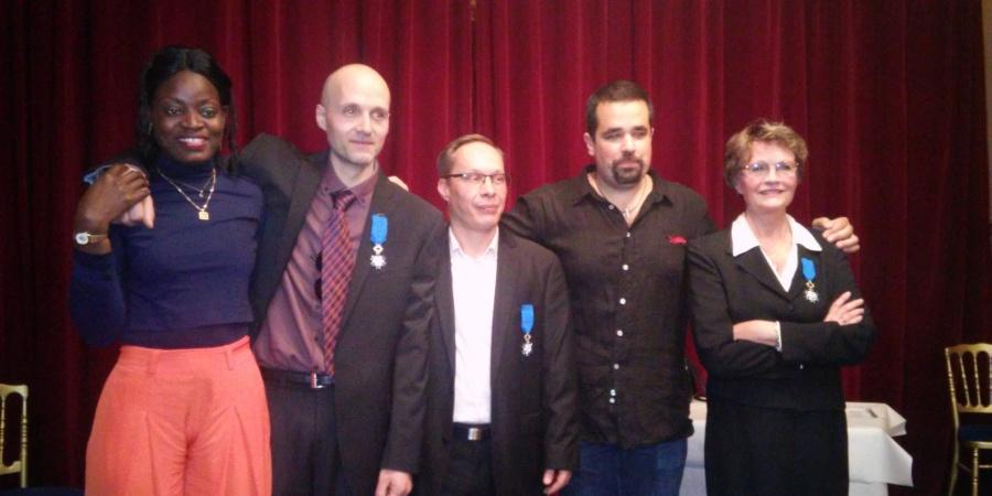 Médaille de l'ordre national du mérite pour 2 agents municipaux