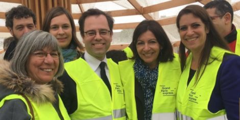 Lancement du premier chantier du Grand Paris Express