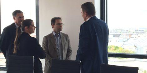 Visite de la société TDF à Montrouge