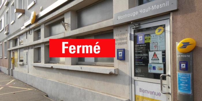 La droite cautionne la fermeture du bureau de Poste Haut-Mesnil