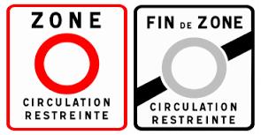 Les zones à circulation réduite à Paris