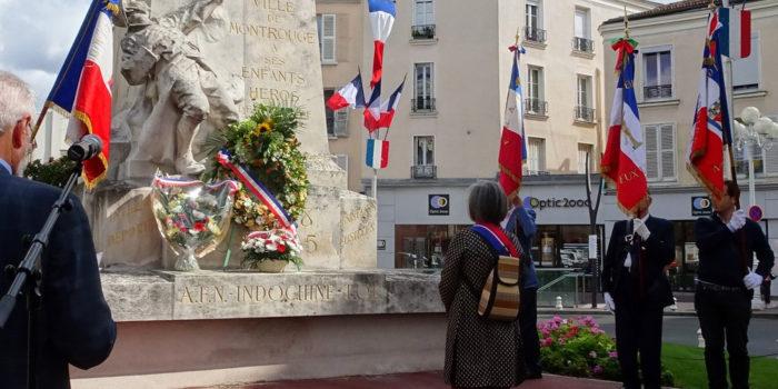 Commémoration de la Libération de Paris à Montrouge