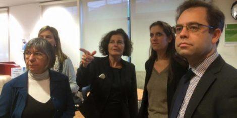 Visite à Pôle Emploi Montrouge pour les «Rendez-vous de l'emploi»