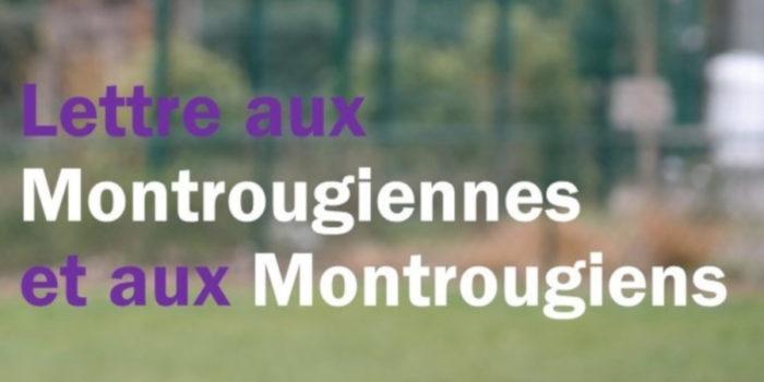 Lettre aux Montrougiennes et aux Montrougiens