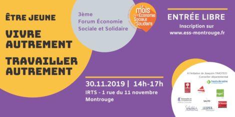 3ème Forum Économie Sociale et Solidaire @ IRTS