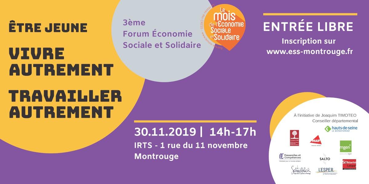 3ème Forum Économie Sociale et Solidaire