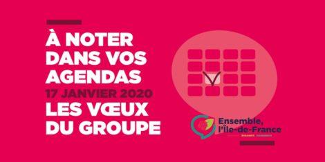 Voeux du Groupe socialiste, écologiste et progressiste au Conseil régional d'Île-de-France