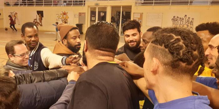 Au match du SMM Basket Montrouge