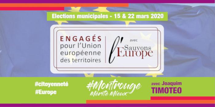 Engagé pour faire vivre le projet européen au niveau local