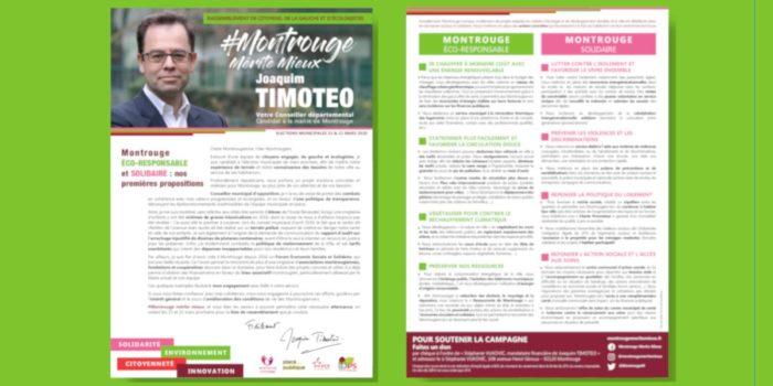 Montrouge éco-responsable et solidaire – Premières propositions