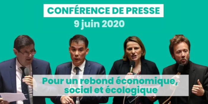 Conférence de presse | « Pour un rebond économique, social et écologique »